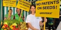 no gmo patent greenpeace protests in munich against the patent on broccoli