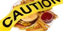 hamburger caution gmo warning x