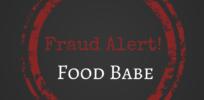 Fraud Alert Food Babe