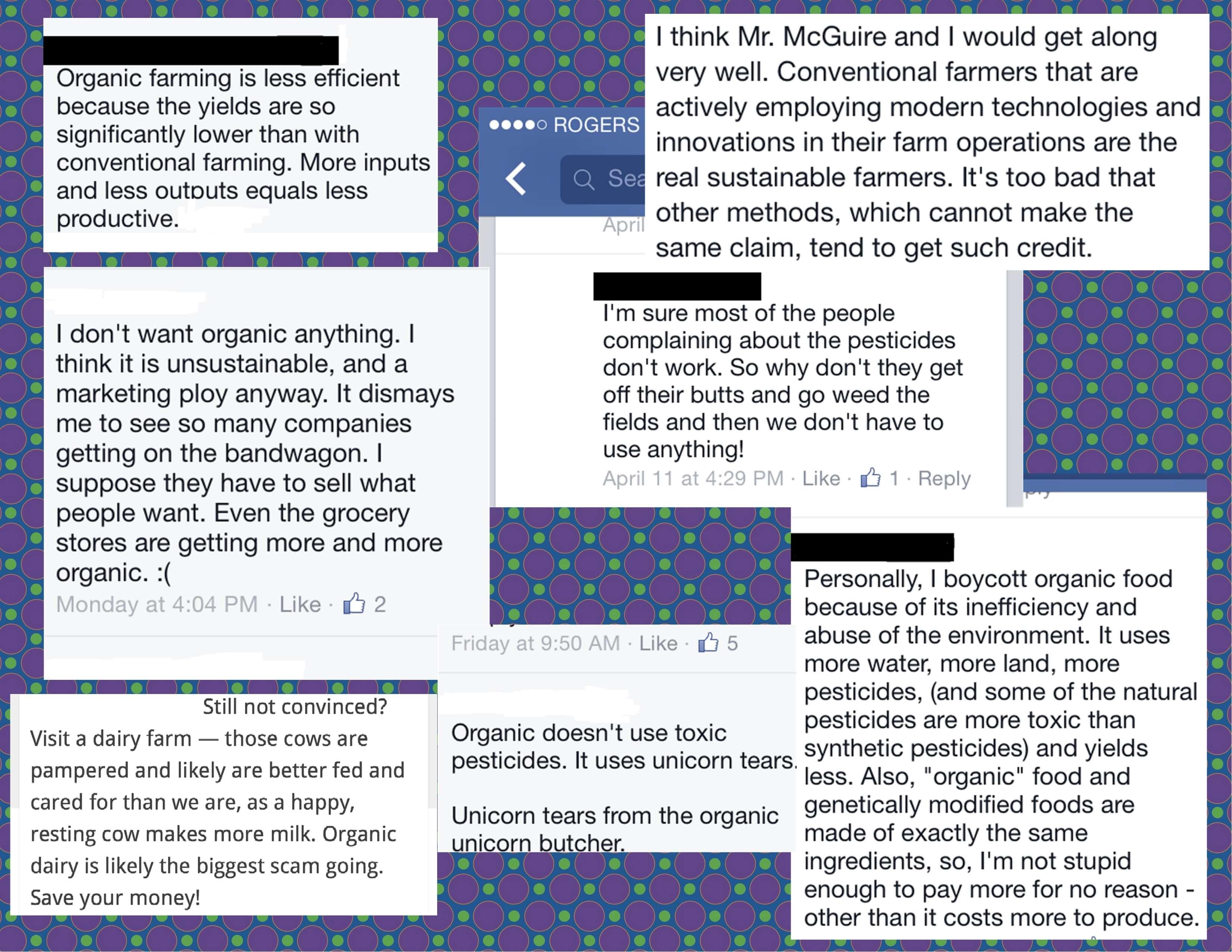 anti-organic quotes