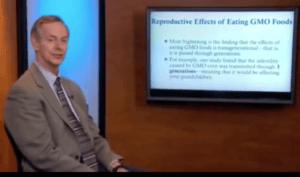 GMOs could affect fertility across three generations, Blaylock falsely claims.