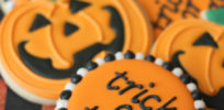 Halloween Pumpkin Sugar Cookies
