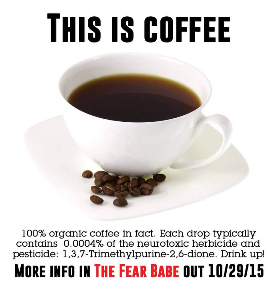 Sound scary? Don't ditch your morning Joe.