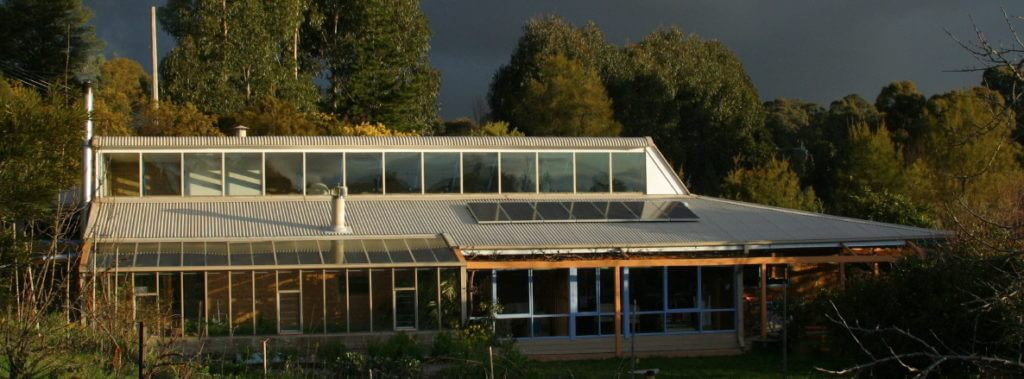 Passive solar house Melliodora August 2004
