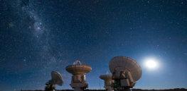 px Four antennas ALMA