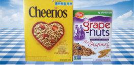 cheerios grape nuts non gmo