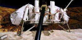 Viking Lander Model