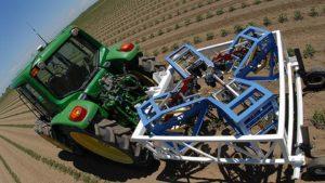phenotyping machine in tomato field slaughter