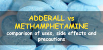 adderall vs methamphetamine c d f a x