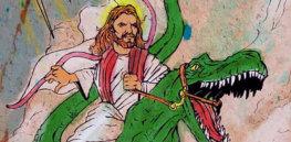 jesus dinosaur