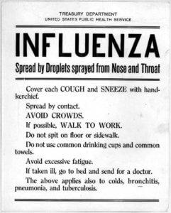 spanish flu 1 25 18 3