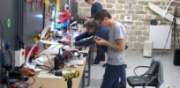 La Paillasse Nuit Blanche biohacking space hackerspace makerspace paris france europe innovation is everywhere drone lab