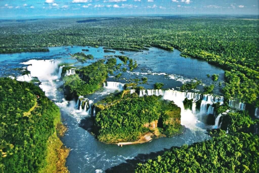 paraguay waterfalls
