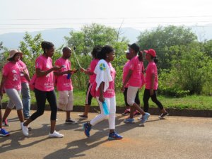 px Annual Breast Cancer Walk in Swaziland