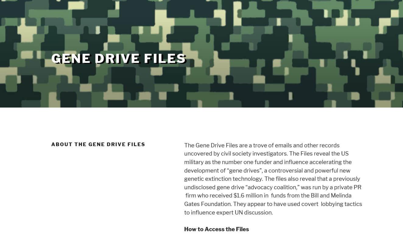 gene drive 5 11 18 2
