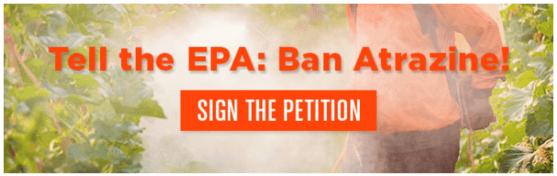 atrazine banning petition united states
