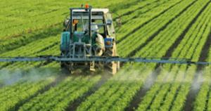 truck spraying pesticides