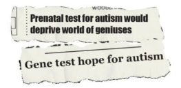 Genetic testing page headline