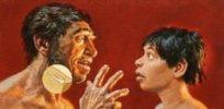 Neanderthal language e