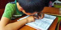 2-21-2019 chinese kid studying maths