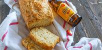 beer bread cheese bottle horz