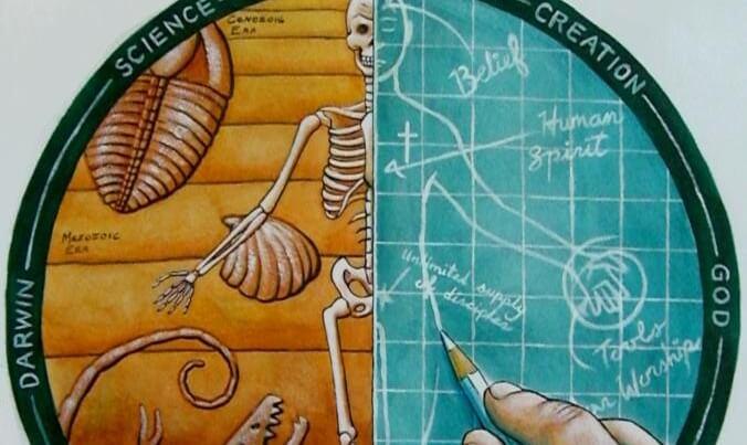 evolution vs creation by geekblz