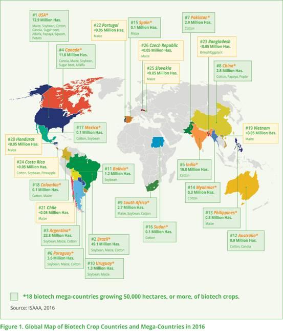 GMO countries 342
