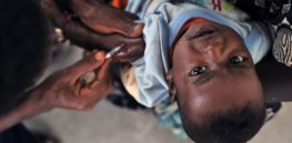 global eradication of wild poliovirus type declared on world polio day