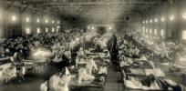 emergency hospital during influenza epidemic camp funston kansas ncp