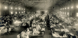 emergency hospital during influenza epidemic camp funston kansas ncp