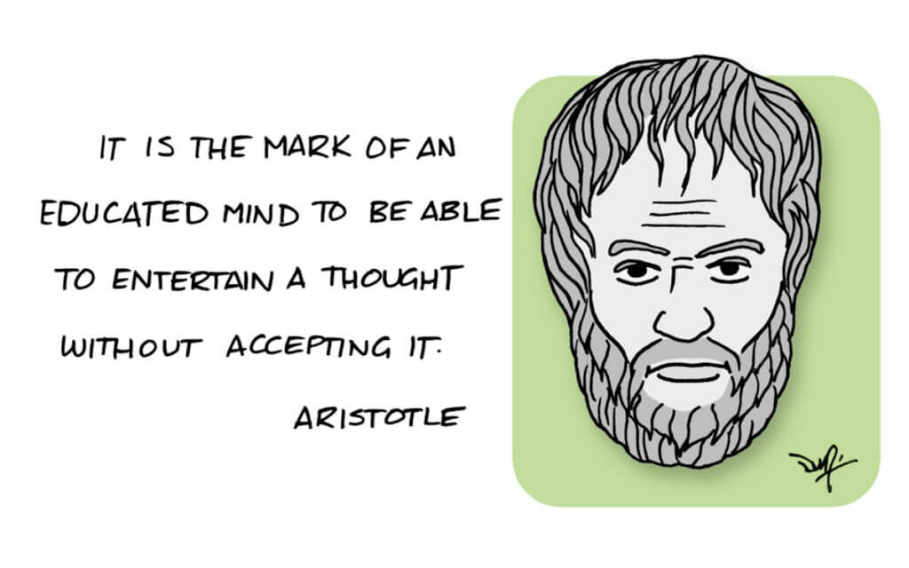 aristotle quote x x