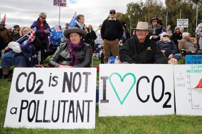 macdonald climate change denial carbon