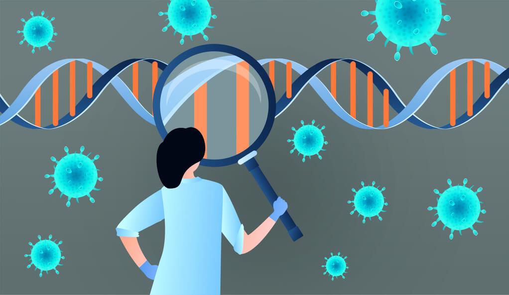 ynews dna genome covid
