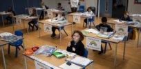 skynews social distancing classroom