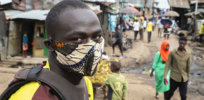 ap africa taxidriver mask