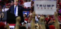 trump rally reuters