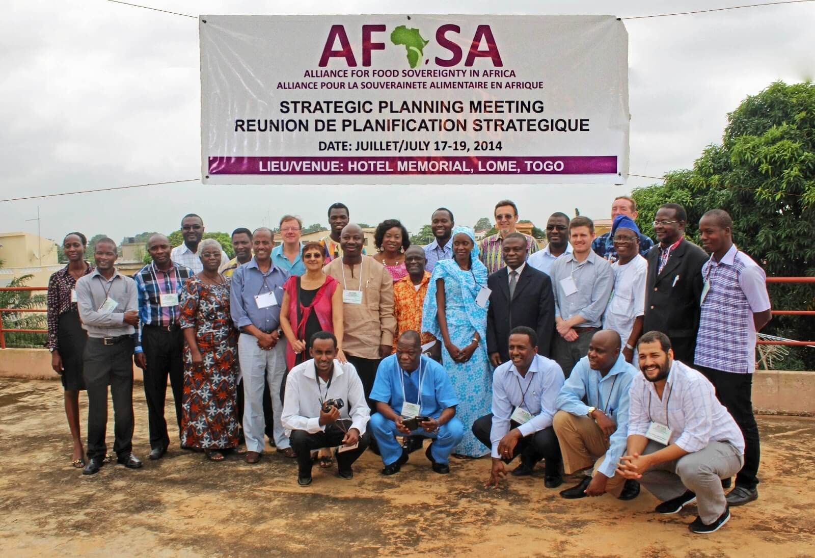afsa meeting family picture