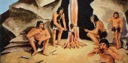 When did pre-modern humans begin using fire?