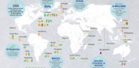 Infographic: Here's where GM crops are grown around the world today
