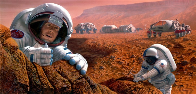 Colonizing Mars? Here's the technology we need to make that happen - Genetic Literacy Project