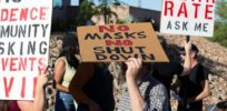 Deadly coalition: Anti-vaxxers merging with anti-mask advocates