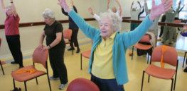 Physically active older adults are as much as 40% less likely to develop Alzheimer's