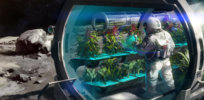 'Space farming': Bacteria discovered on International Space Station could aid plant growth on Mars
