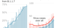 Infographic: COVID variants spreading rapidly throughout the US, stalling post-coronavirus recovery