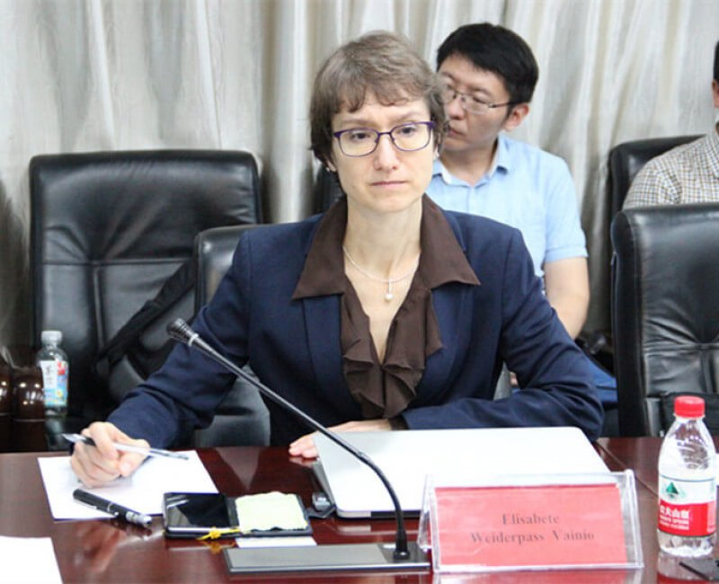 New IARC director Elisabete Weiderpass (Image source: news.lzu.edu.cn)