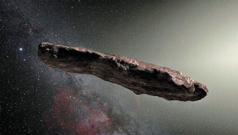oumuamua asteroid space ESO