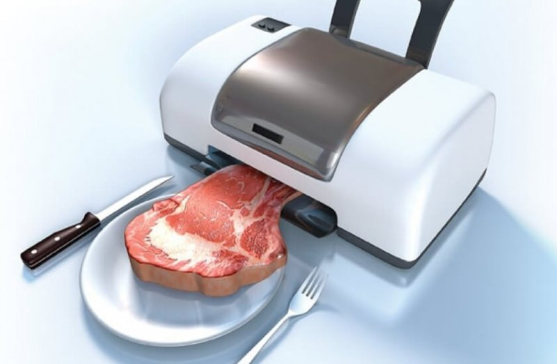 d printing of meat