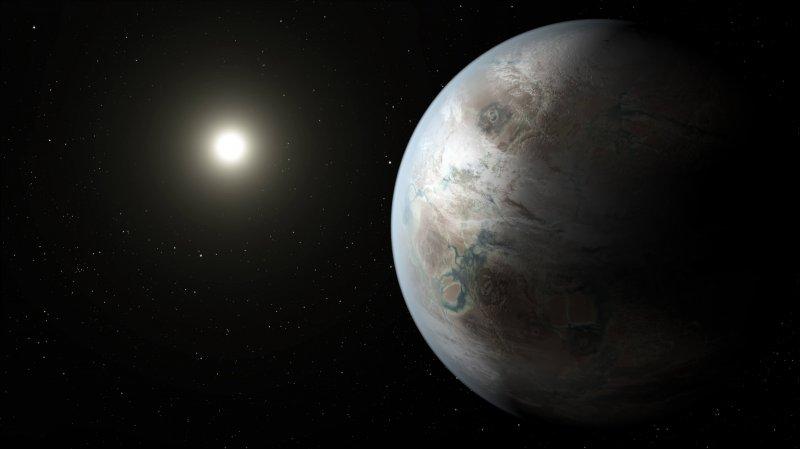 Kepler b artist concept