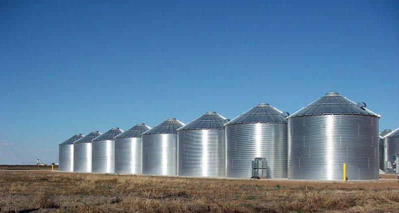 px Ralls Texas Grain Silos