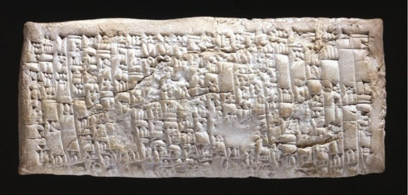 Ancient Babylonian Tablet